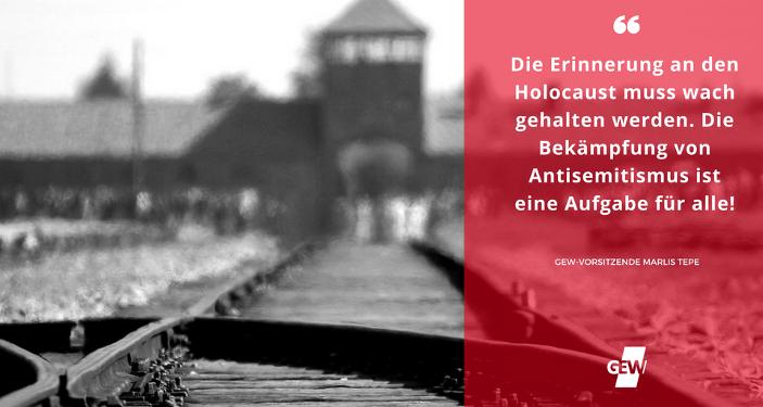 Holocaust Gedenktag Die Erinnerung Muss Wach Gehalten Werden Gew
